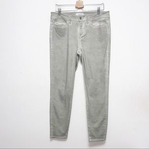 Yummie Heather Thomson Green Slimming Ankle Jeans